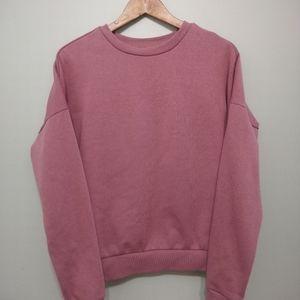5/25$ ARDENE basic purple sweater XS